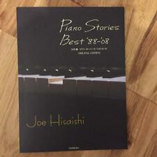 Joe Hisaishi Piano Stories Best 88 08 Japan Music Score Book