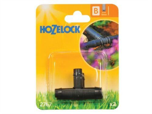 paquete De 2 Riego productos-hoz2767 Pieza T 13mm