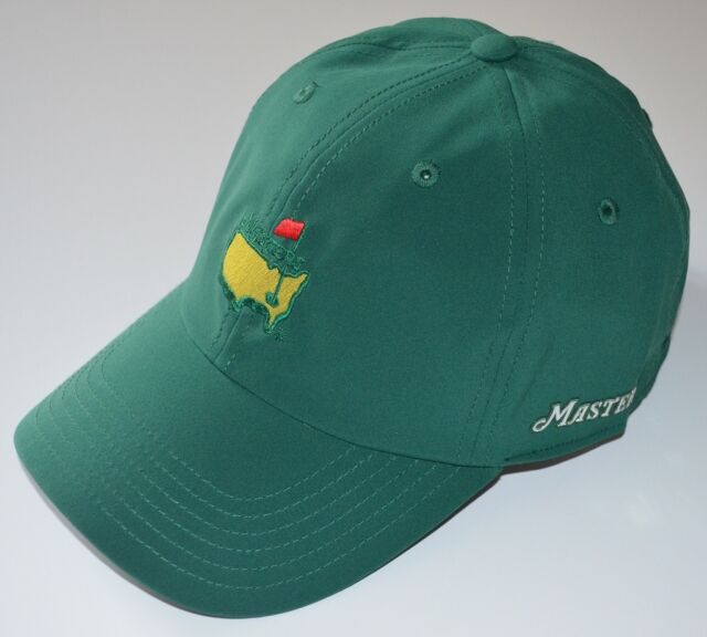 2017 MASTERS (GREEN) PERFORMANCE SLOUCH Golf HAT from AUGUSTA NATIONAL bb341c58d7f