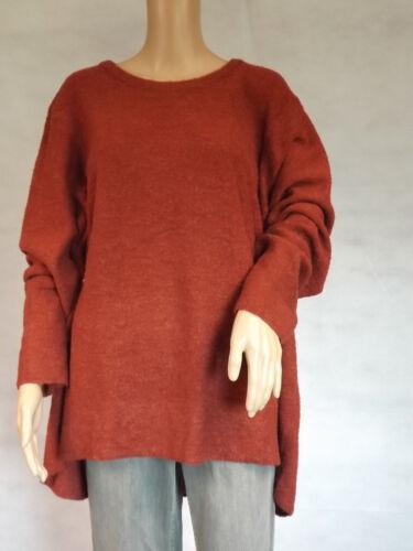 GINA LAURA XL 1XL 48//50 langarm Pullover  ziegelrot rost  A-Linie
