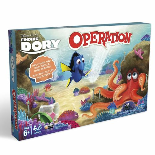 Finding Dory Operation Game Replacement Parts /& Pieces 2016 Funatomy Fish