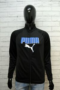 Felpa-PUMA-Cardigan-Uomo-Taglia-46-M-Pullover-Sweater-Man-Maglione-Sweatshirt
