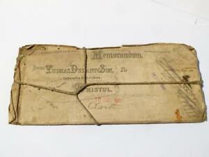 Antique-1909-Thomas-Durant-Son-Bristol-Chemist-MEMORANDUM-Copper-Print-Plate-27