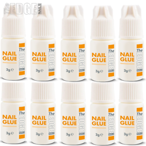The-Edge-Nails-Adhesive-Glue-10x-3g-Super-Strong-For-False-Nail-Tips-Extensions