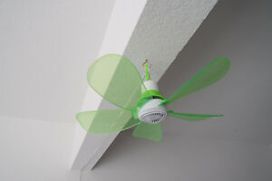 110V-AC-17IN-PORTABLE-EZ-HANG-5-GREEN-BLADES-HANGING-MINI-CEILING-FAN-W-12-039-CORD