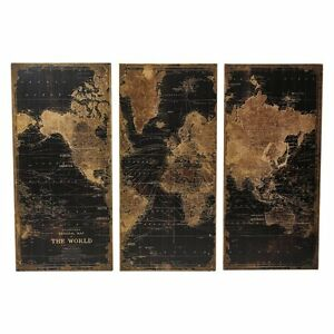 Image Is Loading Aspire Home Accents Stanford World Map Wall Decor