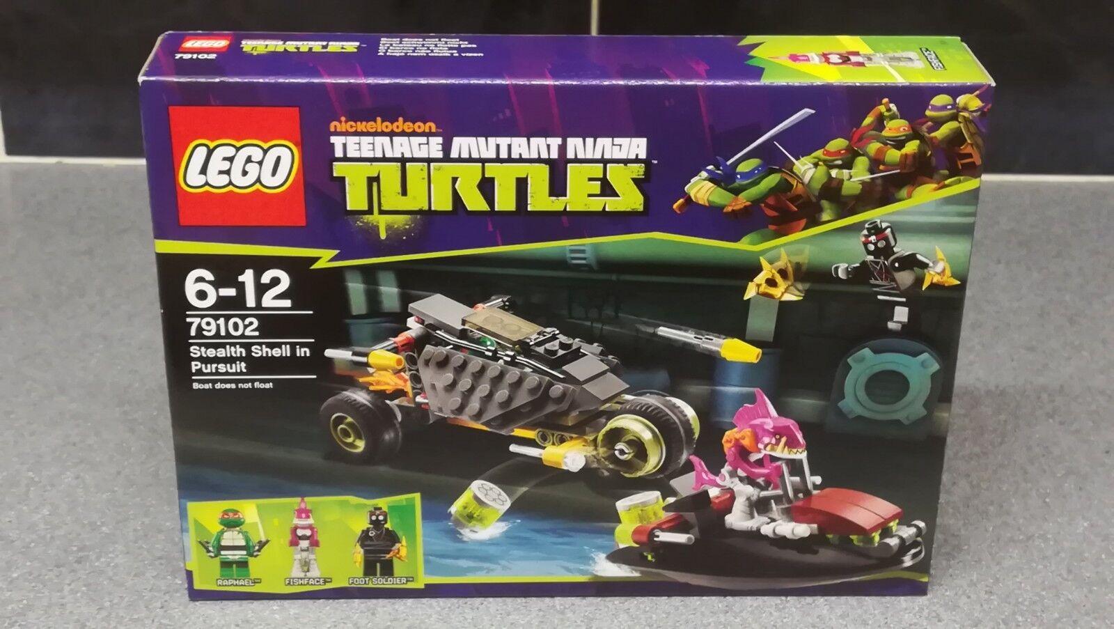 LEGO Teenage Mutant Ninja Turtles 79102 STEALTH SHELL IN PURSUIT - Brand New_2