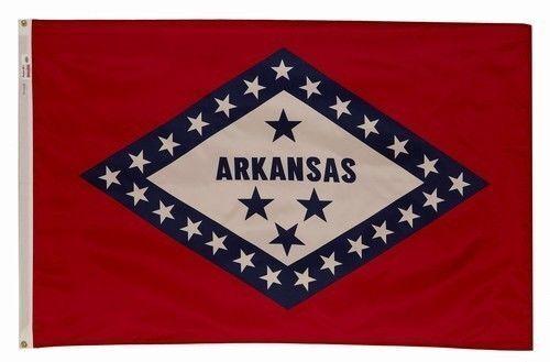 4X6 Nylon Arkansas State Flag New 4X6 Arkansas Banner 4X6 AR State Flag US Made