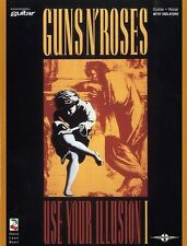 Guns N Roses Use Your Illusion I Live and Let Die Rock Guitar TAB Music Book
