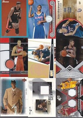 HUGE WHOLESALE BASKETBALL CARD COLLECTION GAME USED AUTO SERIAL NUMBERED LOT