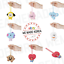 miniature 1 - BT21 Character Baby Silicone Name Tag 7types Official K-POP Authentic Goods