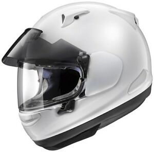 ARAI-QV-PRO-GLOSS-WHITE-TOURING-ROAD-MOTORCYCLE-HELMET