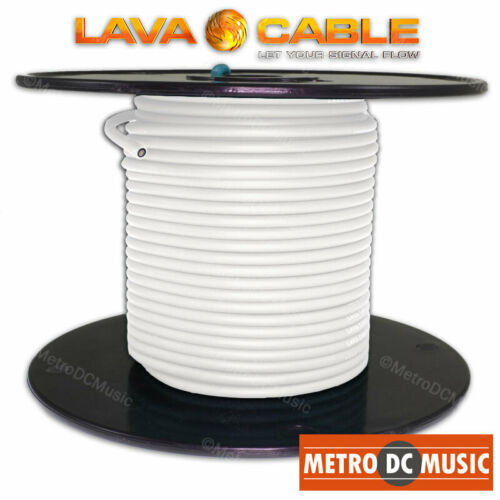 10 feet Lava Cable WHITE Tightrope Cable For Lava Tight Rope Plugs Pedal Patch