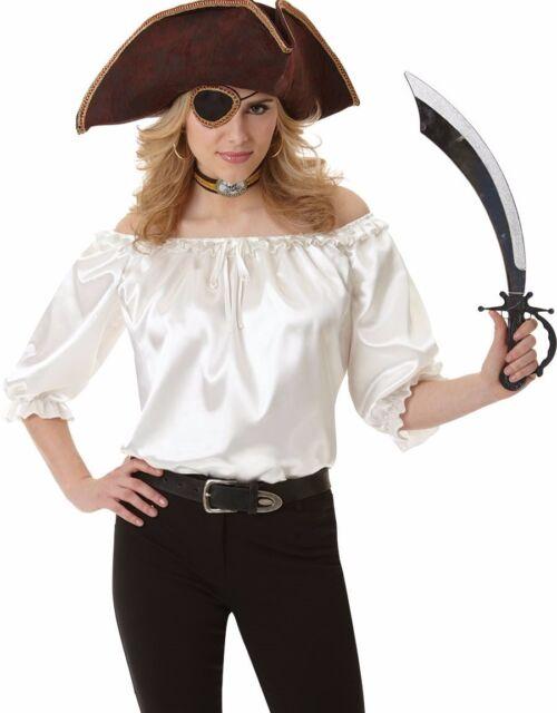 Women/'s Pirate Blouse