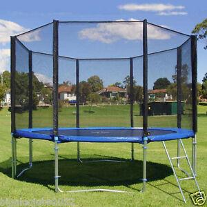 ersatznetz netz sicherheitsnetz f r trampolin versandfrei 244 305 366 396 430 cm ebay. Black Bedroom Furniture Sets. Home Design Ideas