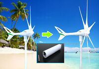 Apollo Wind Turbine Generator Upgrade Kit 18 Cm Tail Extension