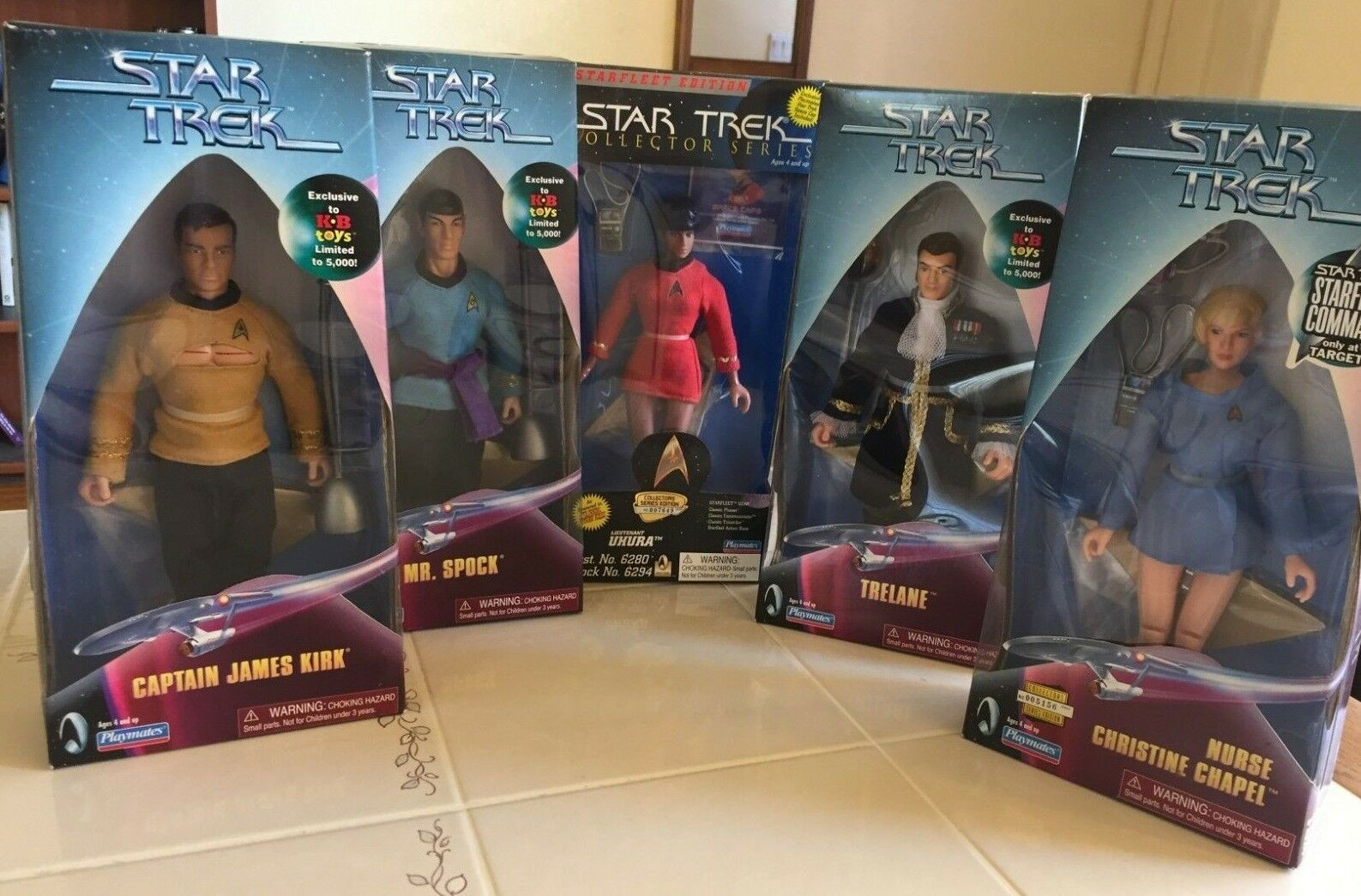 Star Trek TOS 9  The Original Series 9 inch Action Figure Doll Special Edition