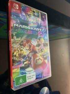MarioKart 8 Deluxe Nintendo Switch Game