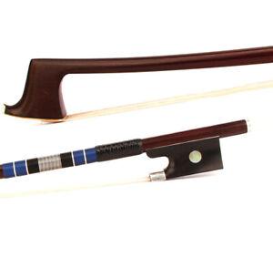 D-PECCATTE-Copy-Antique-4-4-Violin-Bow-Master-Advanced-Pernambuco-Ebony-Silver