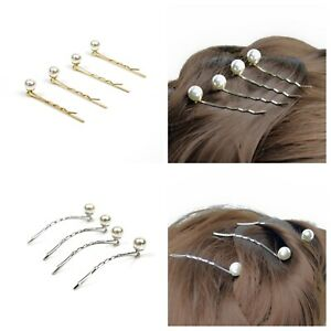 4pc-Elegant-Pearl-Curved-Flat-Bobby-Pin-Hair-Clip-Bridal-Styling-Hairpin-Women