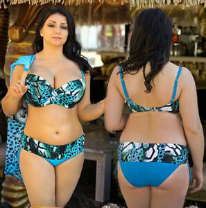 60595ff5c78 Sexy Women Plus Size Bra Bikini Swimwear Bathing Suit Swimsuit ...