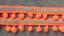 Vintage Embroidered Trim  1 1//2 inch wide  Pom Pom Ball Fringe price per yard