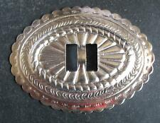 SET á  10  x  Conchos Conchas Biker  Western Indianer Nieten 54 x40 mm