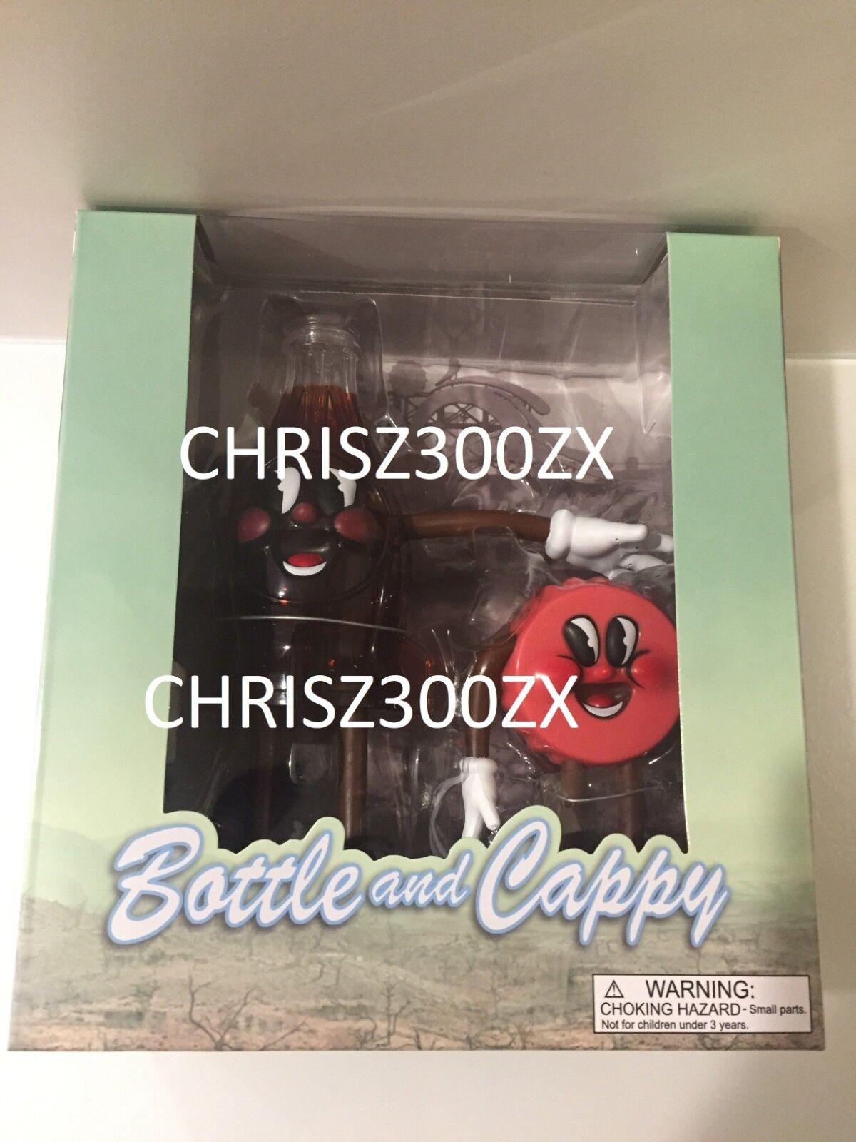 Fallout Bottle And Cappy Bendables [Poseable] PVC Vinyl Figures Figures Figures SET Bethesda 208dfe