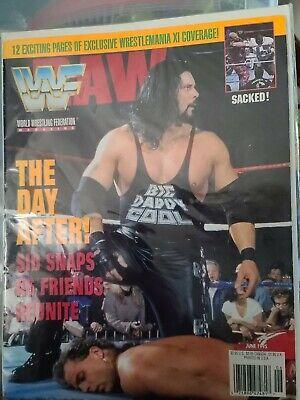 From the loft: WWF Raw Magazine - April 1998 ~ Retro Pro