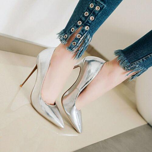Details about  /Classic Pointy Toe Women/'s Stilettos High Heels OL Pumps Party Shoes court shoes
