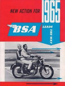 1965-BSA-full-model-line-brochure-4-page-catalog-Lightning-Hornet-Cyclone-C15