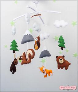 Baby Shower Gift Felt Handmade Mobile