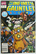 Infinity Gauntlet  #1 NEWSSTAND Variant Thanos Avengers Silver Surfer HOT Movies