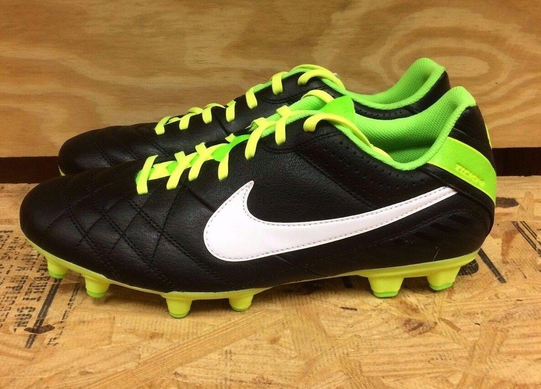 Nike tiempo naturale iv ltr fg scarpe coi tacchetti sz 7.5-12 509085-013 l | Prezzo di liquidazione  | Uomini/Donna Scarpa