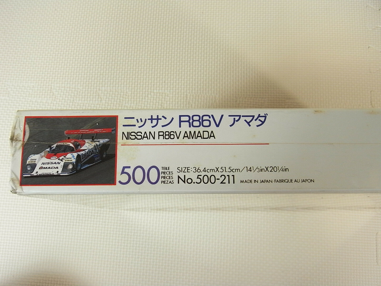 NISSAN R86V 500pcs AMADA  32 1986 Jigsaw Puzzle 500pcs R86V Japan aac520