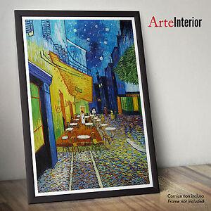Dettagli Su Vincent Van Gogh Terrazza Del Caffè La Sera Fine Art Wall Poster