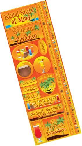 Reminisce Signature Series Combo Sticker Tales of the Tropics