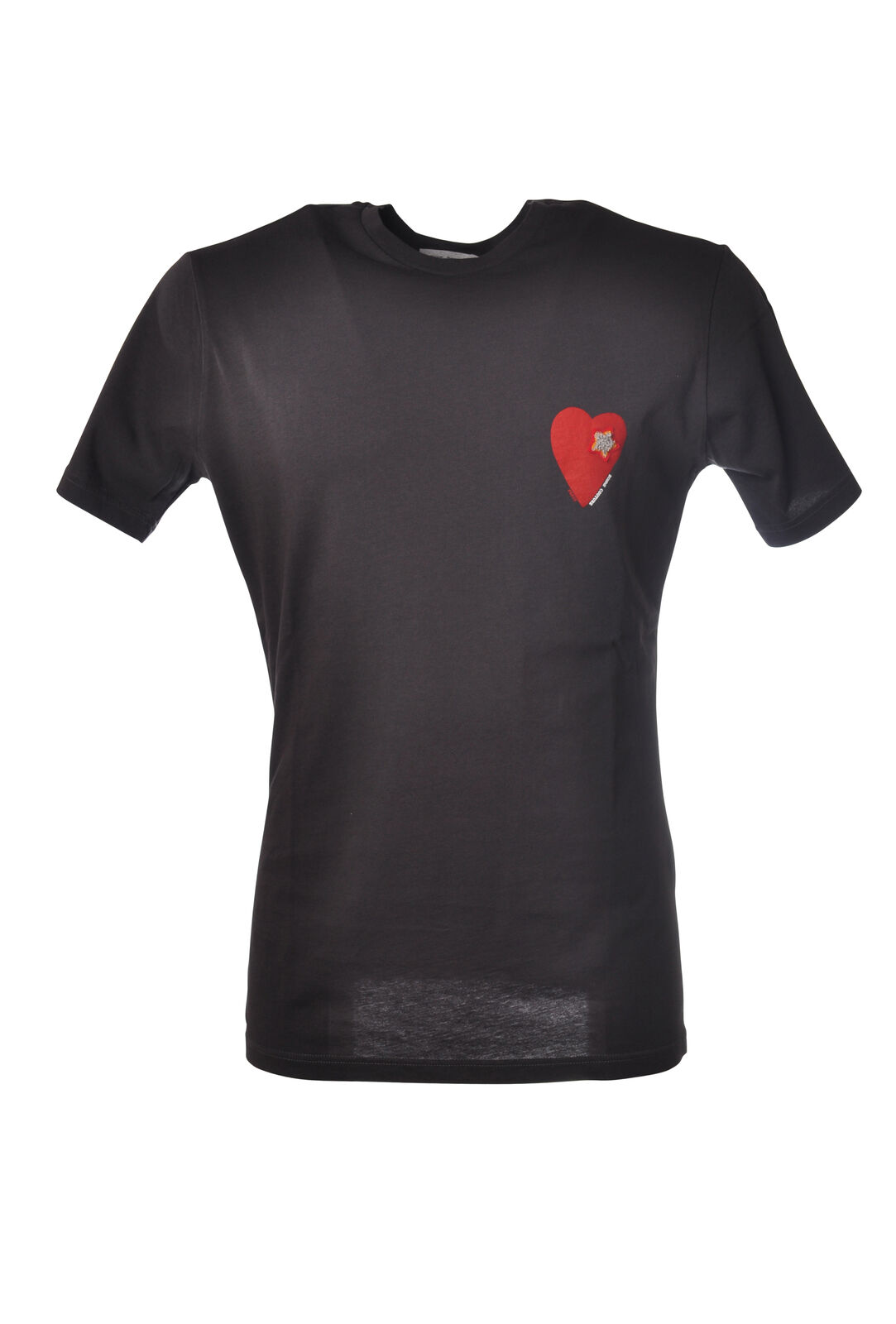 Daniele Alessandrini - Topwear-T-shirts - Man - Grey - 5288408E192044