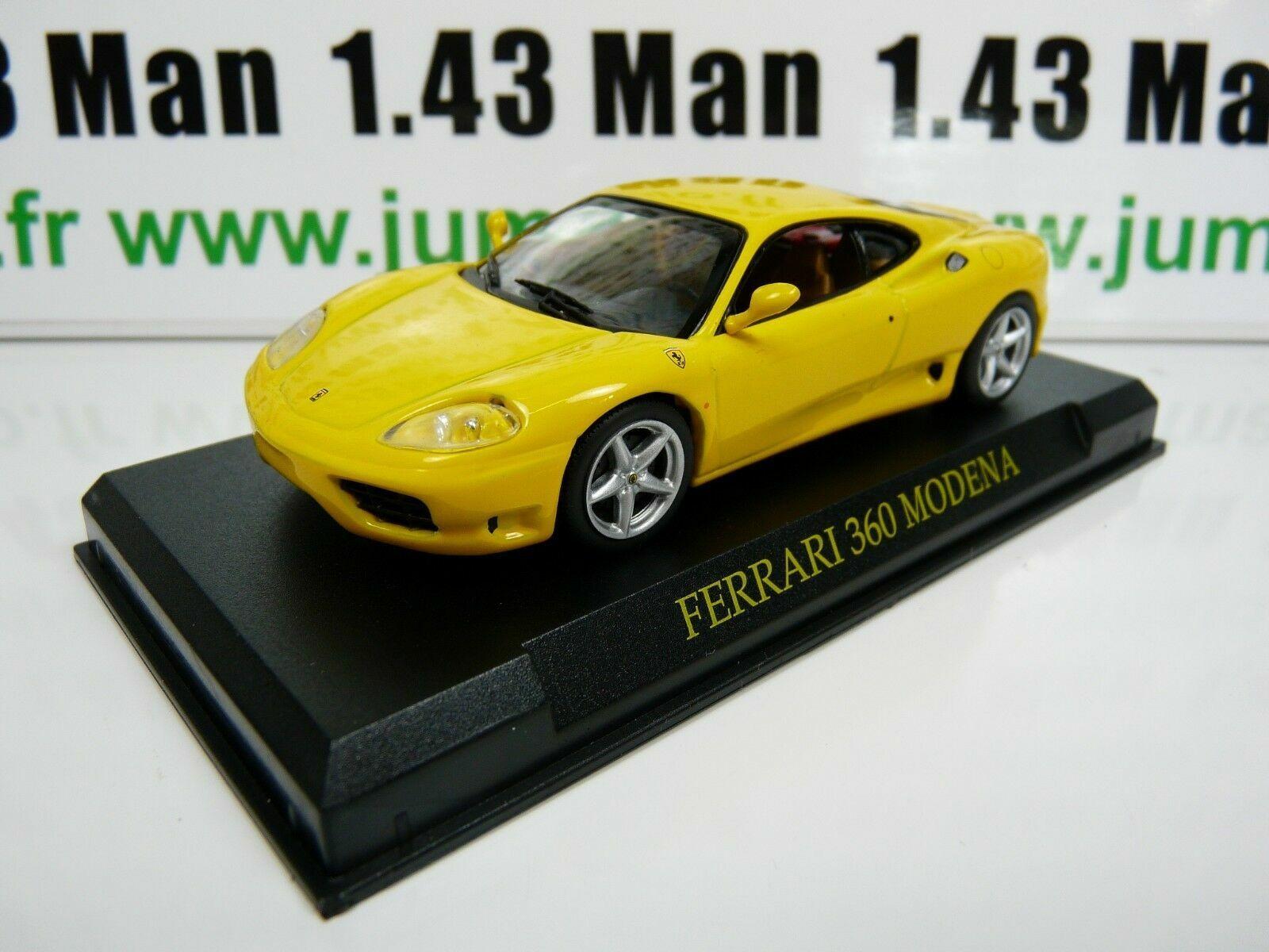 FERRARI F360 MODENA jaune FER2G voiture 1//43 IXO altaya