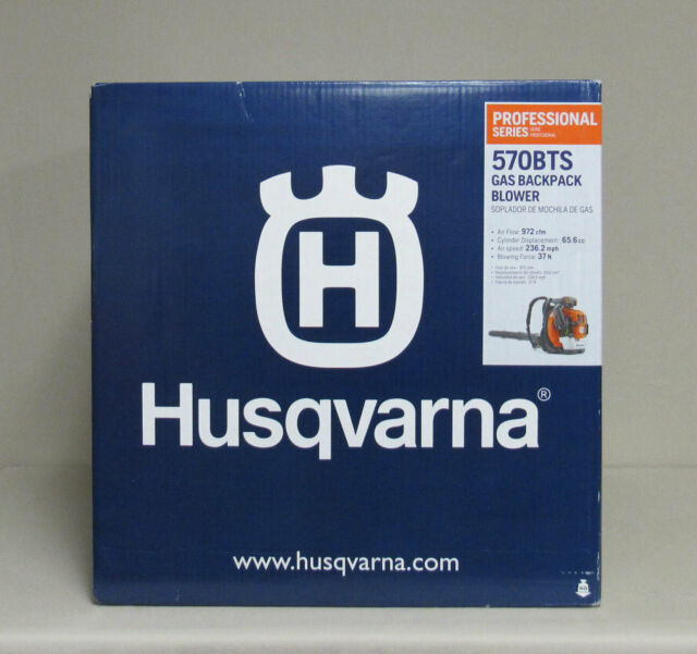 *NEW* Husqvarna 570BTS 66-cc 2-cycle 236.2-MPH Professional Gas Backpack Blower