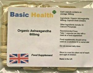Organic-Ashwagandha-x-120-Capsules-600mg-High-Strength-Indian-Ginseng-Made-in-UK