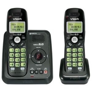 VTech-CS6124-21-DECT-6-0-Cordless-Phone-and-Answering-System-2-Handsets