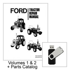 ford 5600 6600 6700 7600 7700 tractor service manual technical rh ebay com ford 5600 parts manual ford 5600 tractor parts manual