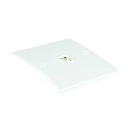 Newlec Slimline Single Outlet TV//FM Co-Axial Socket White