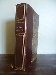 Escenas Populares H. Monnier Dentu París 1864 Tr.de Cabeza Oro / Plato Jasper