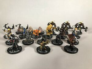 WizKids-Mage-Knight-Lot-of-20-Miniatures-Opened-Excellent-Condition