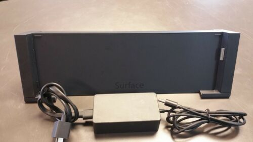 Microsoft Surface Pro 3 Docking Station Model 1664 with AC Power Adapter Tested