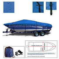 Four Winns 240 Horizon I/o Bowrider Premium Trailerable Boat Cover Blue