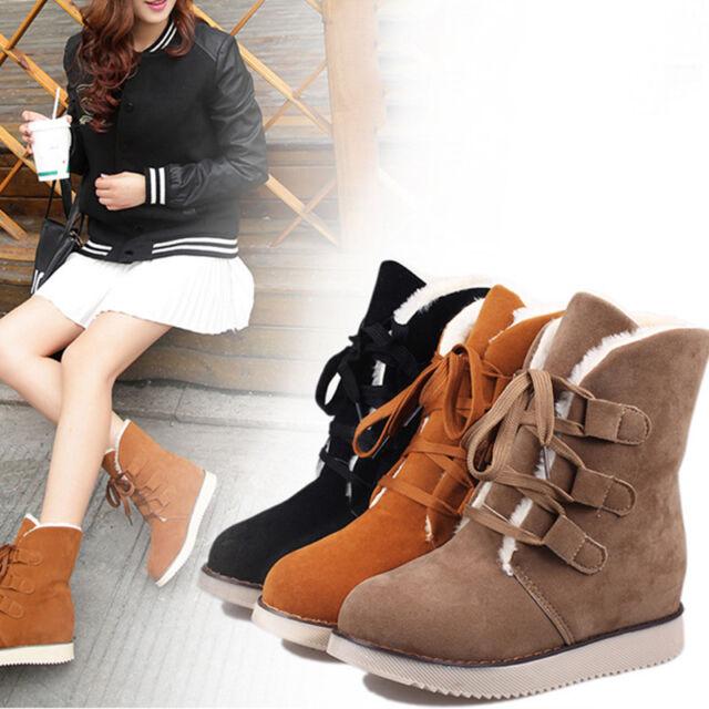 Mujer Botas De Invierno Bowknot Botines botas de nieve Piel Sintética Zapatos