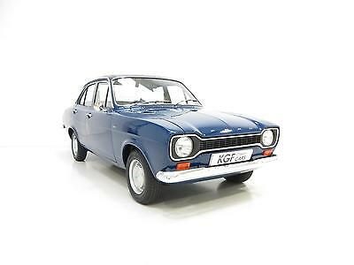 A Truly Delightful Ford Escort Mk1 1300L with Just 29,855 Miles from New